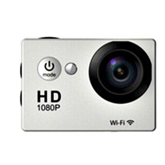 ADS Professional Camera Shooting WIFI SJ4000 Waterproof HD 4K 1080P 12MP Sports Camera Action DV Travel Kit Gold - intl