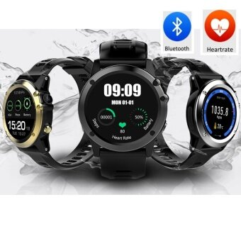 Aibot H1 Smart Watch MTK6572 IP68 Waterproof 1.39inch 400*400 GPSWifi 3G Heart Rate Monitor 4GB+512MB for Android IOS Camera 500W -intl - 2