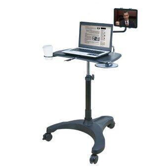ราคา AIDATA โต๊ะวางโน้ตบุ๊คและแท็บเลต รุ่น LPD302P (Black)