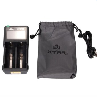 Alithai XTAR VC2 two channel Li-ion Battery Charger (Black) - 3