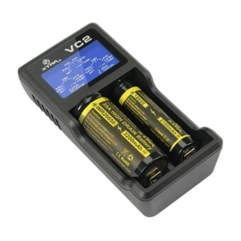 Alithai XTAR VC2 two channel Li-ion Battery Charger (Black)