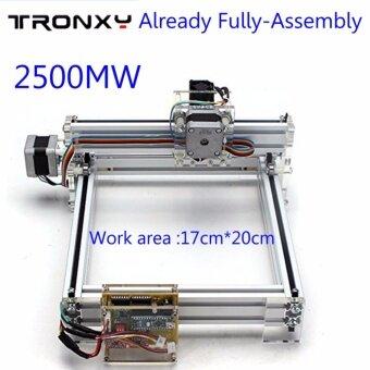 รีวิว Already assembly 2500mW 17x20cm Desktop Laser Engraver Picture CNCPrinter Laser Jet - intl