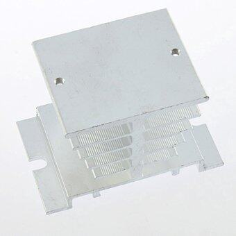 Aluminum Heat Sink SSR Small Type Heat Dissipation