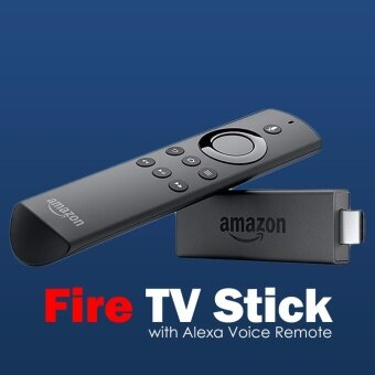 Harga Amazon Fire TV Stick with Alexa Voice Remote | Streaming MediaPlayer - intl