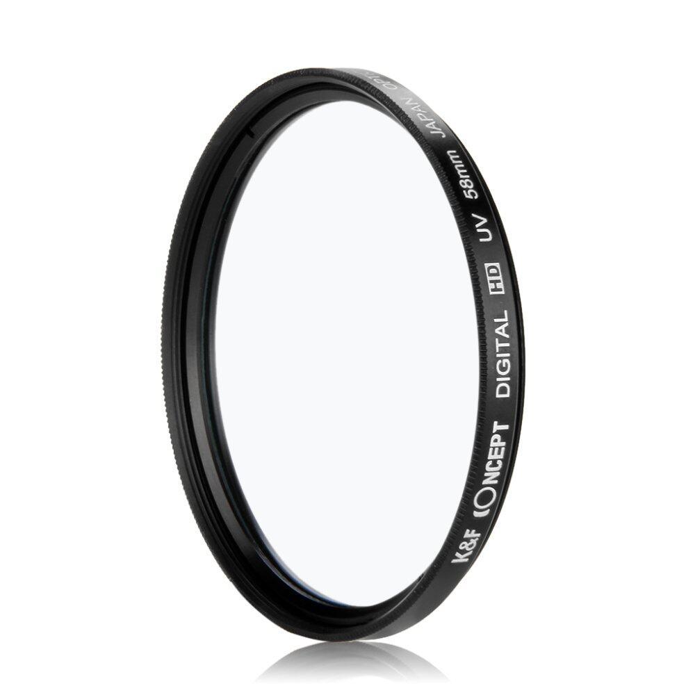 เค & เอฟคิด 58มมตรงกรองรังสี uv Nikon D5200 D300 D3100 D3200