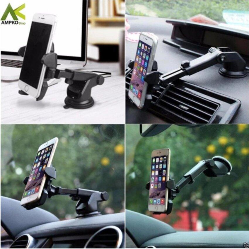 ampko ขาจับโทรศัพท์ ปรับยาวสั้น ที่วางโทรศัท์ long neck SL-2 ที่วางมือถือในรถ เหมาะสำหรับจอ 3.5,4,5,5.5,6นิ้ว*