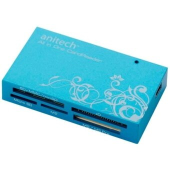 Harga Anitech Card Reader RA410 Blue