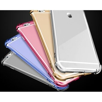 Anti-shock Cushion Shockproof Silicone TPU Cover Case for App.lei.Phone 6S Plus/ 6 Plus (Transparent) - intl