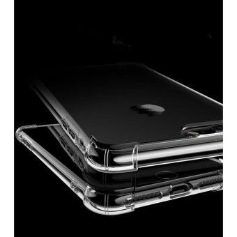 Anti-shock Cushion Shockproof Silicone TPU Cover Case for App.lei.Phone 7 Plus (Transparent) - intl