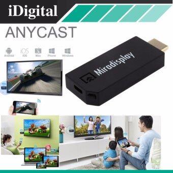 Anycast M2 PLUS HDMI WIFI Display เชื่อมต่อมือถือไปทีวี และprojector รองรับ iphone และ android Screen Mirroring Cast ScreenAirPlay Dlan Miracast ( สีดำ )