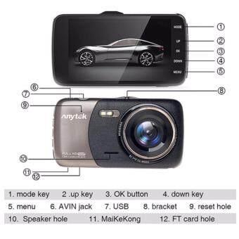 Anytek รุ่น B50 กล้องติดรถยนต์ 1080P FHD car cameras