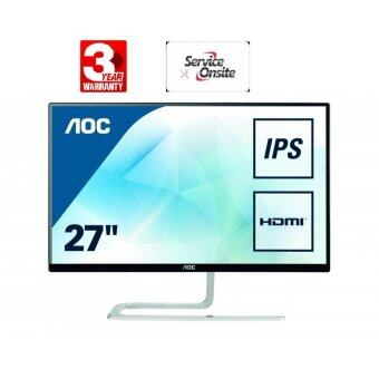 "AOC (I2781FH) LED Monitor 27"" IPS (Black) -Onsite Service (By Service Center AOC)"