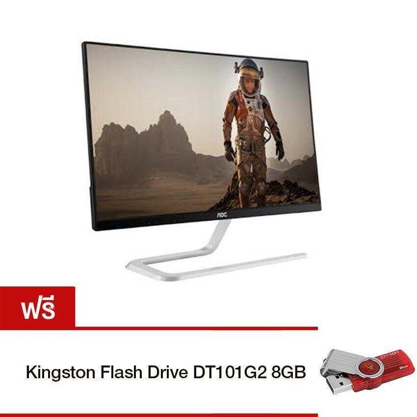 AOC LED Monitor 23 IPS I2381FH (Black) Free!! Kingston Flash DriveDT101G2 8GB