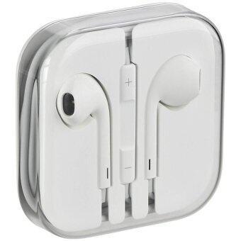 Apple หูฟัง earpods พร้อมรีโมทและไมโครโฟน Original (No Box) - White (image 0)