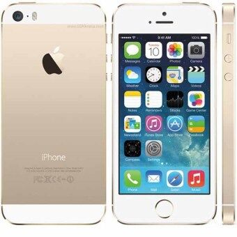Apple iPhone 5S 32G GOLD Unlocked iPhone5s Mobile Phone Dual Core 4\ IPS Phone 8MP 1080P Smartphone GPS IOS