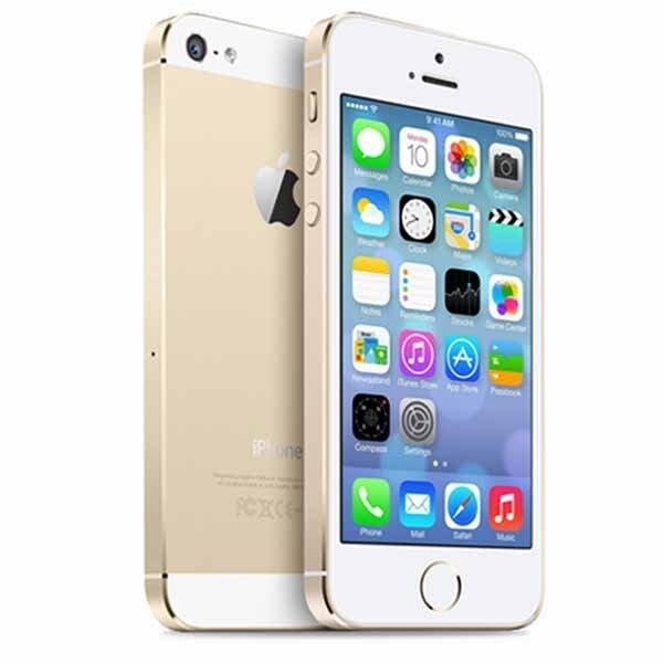 Apple iPhone5S 16 GB GOLD Unlocked iPhone 5S GPS Mobile Phone iPhone5s (free case screen protector)