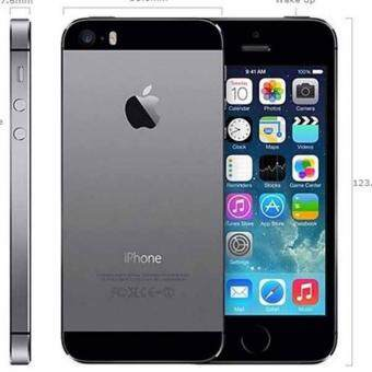 REFURBISHED Apple iPhone5S32gbBLACK Unlocked iPhone5s Mobile Phone