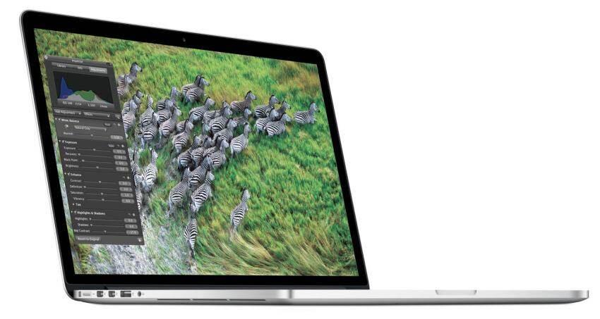 Apple MacBook Pro Retina 15 2.2GHz16GB256GB FlashIntel Iris Graphics Pro (Silver)