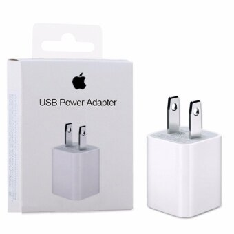 Apple USB charger Power Adapter Apple for iPhone 7/6/5/SE, iPad, iPod USB Net Charger หัวชาร์จไอ iPhone5 5s iphone6 6s iphone7