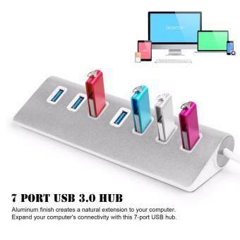 เปรียบเทียบราคา ASIALI Aluminum 7 Port USB 3.0 HUB High Speed Splitter Adapter Hub for Macbook PC Laptop