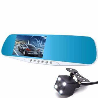 Astro กล้องรถยนต์ รูปทรงกระจกมองหลัง car cameras