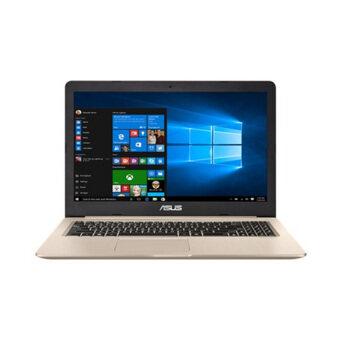 Asus แล็ปท็อป รุ่น ASU-N580VD-DM278 i7-7700HQ 2.8GH 4GB*2 1TB V4G EL (สี Matt Golden IMR)