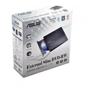 ASUS DVD-RW EXT ASUS 8X SDRW-08D2S LITE (BLACK) -1 Year (By Synnex)