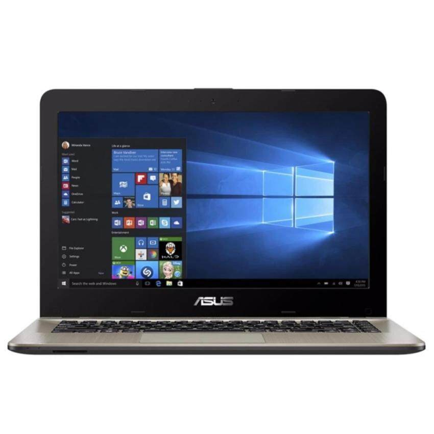 Asus Notebook X411UR-GA039X i3-7100U4GB500GB SATA 930MX 2GB (Chocolate Black)