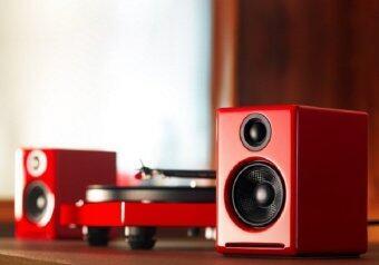 Audioengine รุ่น A2+ สีแดง