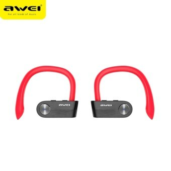 AWEI T2 Wireless Bluetooth Earphone TWS Stereo Headset CordlessEcouteur for Phone Auriculares With Microphone Bluetooth V4.2 -intl