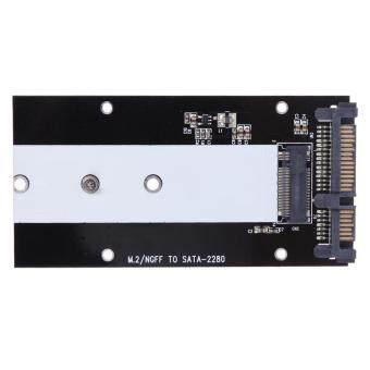 B Key M.2 NGFF SSD to 2.5/ SATA Converter Adapter Card 2230-2280 -intl