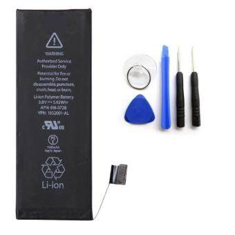 Battery iphone5s New แบตไอโฟน5เอส พร้อมเครื่องมือ 1560mAh 3.8V Li-ion Polymer Internal Battery Replacement with tools kit for iPhone 5S