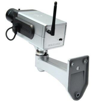 Battery Powered Practical Economic Dummy CCTV Security Camera