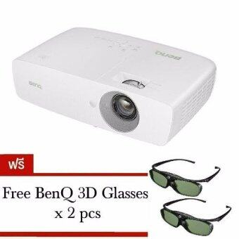 BenQ W1090 Full HD Short-Throw Video Projector 1080p with 3D Support