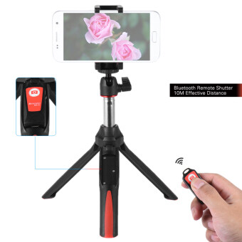 Benro MK10 Handheld Extendable Mini Tripod Selfie Stick with Bluetooth Remote Control Shutter for IOS iPhone 5s/6s/6s Plus & Android Smartphone Cellphone for Gopro - intl