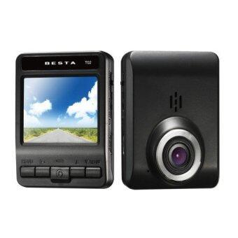 BESTA Car DVR กล้องติดรถยนต์ รุ่น DVR CR-T02 FullHD (Black)
