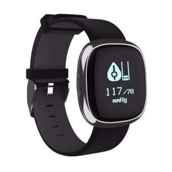 Betreasure IP67 Waterpoof P2 Heart Rate Blood Pressure Monitor Smart Wristband Bluetooth Smart Bracelet Pedometer Smartband - intl