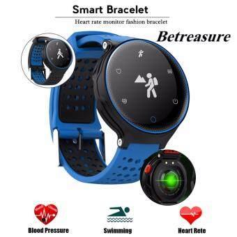 Betreasure X2 IP68 Waterproof Blood Pressure Oxygen Monitor Heart Rate Bluetooth Smart Wristband