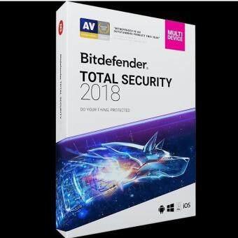 Bitdefender total security 2018 5 PC 1 Year 8 Months [Digital Download] [ใช้ได้ 5 เครื่อง] [Home Use Only] [รองรับ WindowsMac]