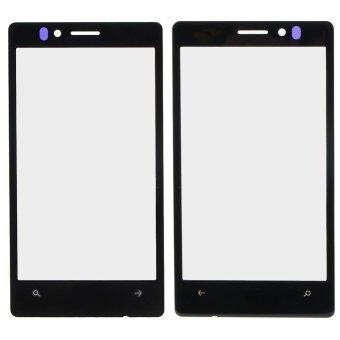 Black Front Outer Touch Screen Lens Glass Repair For Nokia Lumia925-
