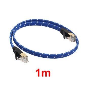 รีวิว Blue Weave Cable Safe High Speed Transmission Data Anti-Aging 1m-20m Pure Copper - intl