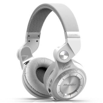Bluedio หูฟังบลูทูธ Bluetooth 4.1 HiFi Stereo Headphone Super BassGameing รุ่น T2+ plue (White)