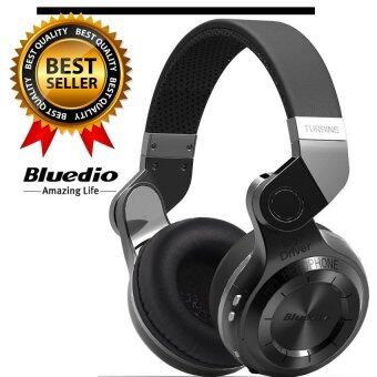 Bluedio หูฟัง Bluetooth 4.1 HiFi Super Bass Stereo Headphone รุ่นT2 (Black)