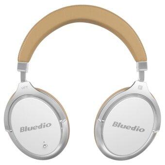 Bluedio F2 (Faith) การยกเลิกเสียงรบกวนที่ใช้งานหูฟังไร้สายบลูทูธหูฟังพร้อมไมโครโฟน (สีขาว)