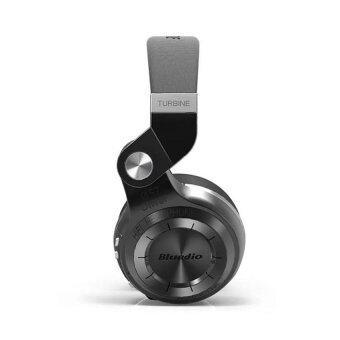 Bluedio T2 Bluetooth 4.1 HiFi Stereo Headphone รุ่น T2แถมกระเป๋าราคา (Black) (image 4)