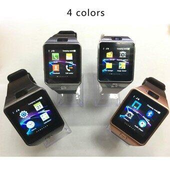 Bluetooth Smartwatch Men Digital Sport Wrist Watch Children Phone Call Fitness Tracker support GSM SIM TF Card DZ09 with Cameras - intl