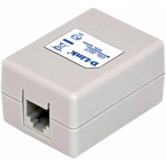 Harga BOX ADSL splitter d-link dsl-30cf สายโทรศัพท์ 1 ออ 2 D-Link แท้ 100% Telephone Phone Fax In-Line Splitter Filter Network RJ11