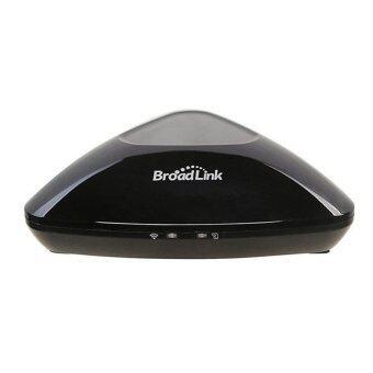 Broadlink RM Pro - ชุดควบคุมรีโมทภายในบ้านรองรับทั้งอินฟราเรด (IR) และคลื่นวิทยุ (RF) ผ่านทางมือถือสมาร์ทโฟน iOS และ Android (Black)