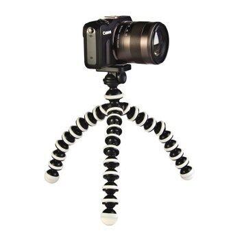 BT Boy telecom ขาตั้งปลาหมึก ขาตั้งมือถือ ขาตั้งกล้อง พร้อมหัวต่อ(สีขาว-ดำ) (image 2)