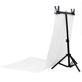 Buyanyway ชุด Back Drop Studio Large พร้อมพื้นหลัง ถ่ายสินค้า PVCขาว